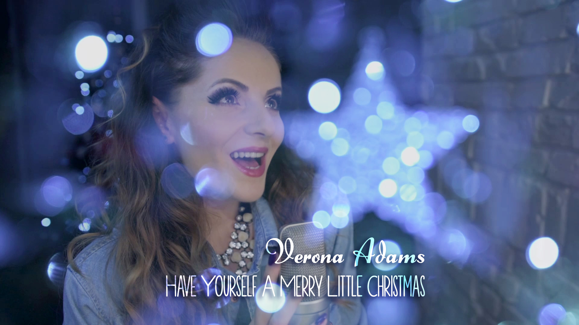 Melodie de Craciun Verona Adams Have Yourself A Merry Little Christmas Sparkle Steluta