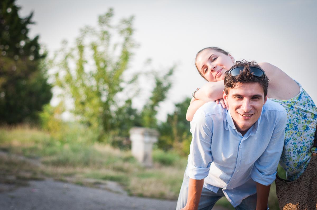 Fotografie de cuplu de logodna